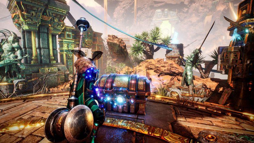 Godfall Valorplates - How to unlock, armor set names, augment slots, customization