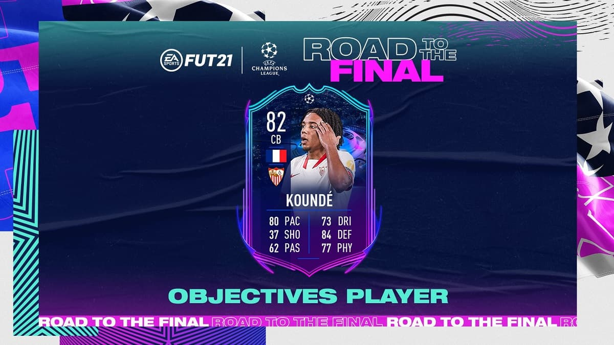 FIFA 21 Kounde Road to the Final