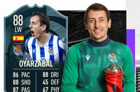 FIFA 21: How to complete the FUT POTM Mikel Oyarzabal SBC