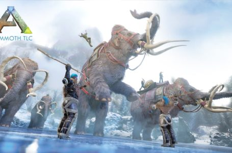 All mammoth TLC changes in Ark: Survival Evolved