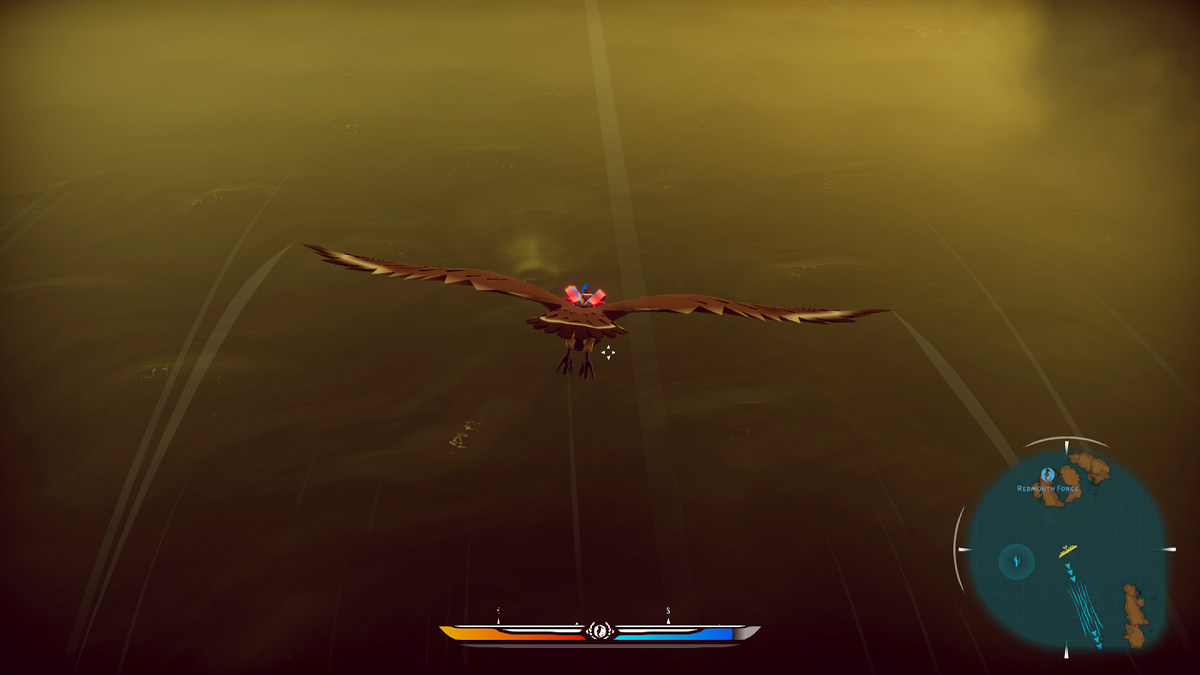 How to gain and use flight energy in The Falconeer