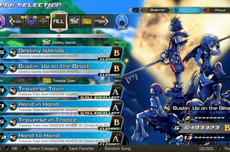 Kingdom Hearts: Melody of Memory full song list
