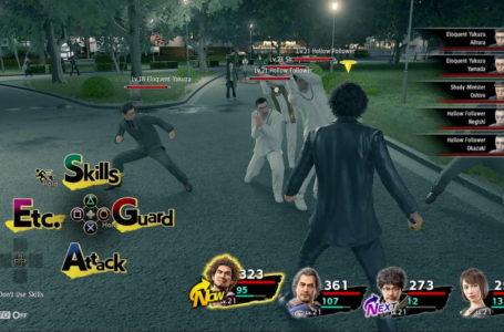 How combat works in Yakuza: Like a Dragon