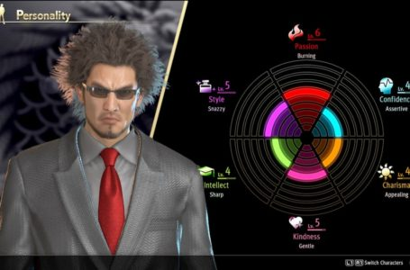 How Ichiban Kasuga's personality works and how to increase it in Yakuza: Like a Dragon