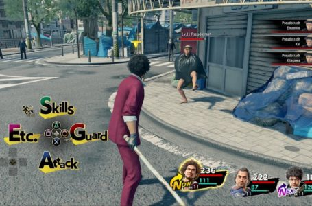 How to do a perfect guard in Yakuza: Like a Dragon