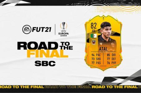 FIFA 21: How to complete the UEFA Europa League RTTF Youcef Atal SBC
