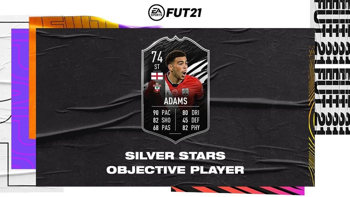 FIFA 21 Che Adams Silver Stars