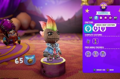 How to unlock and customize outfits in Sackboy: A Big Adventure