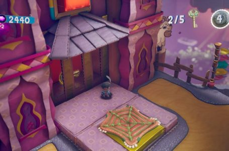 How to find all keys and Dream Orbs on Keys to Success in Sackboy: A Big Adventure