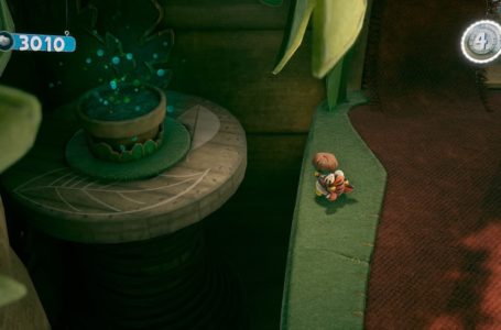 How to activate the plant pot on Sticking With It in Sackboy: A Big Adventure