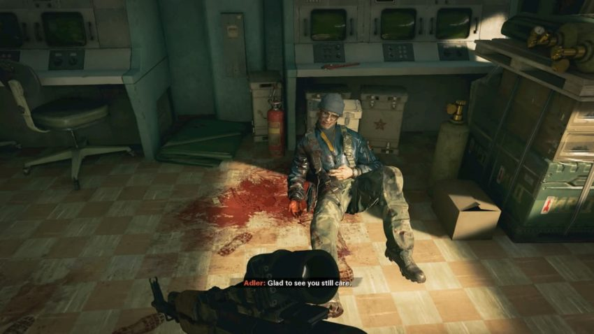 Call of Duty: Black Ops Cold War Bad Ending