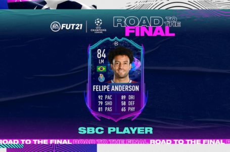 FIFA 21: How to complete the RTTF Felipe Anderson SBC