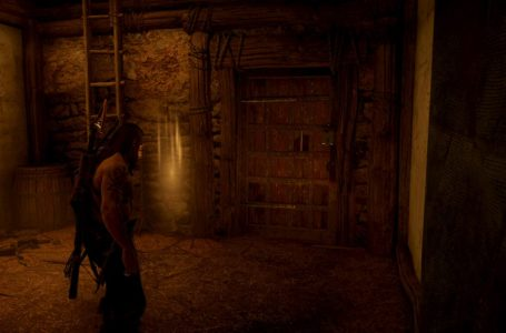 How to unlock the door underneath Brisleah Farm in East Anglia in Assassin's Creed Valhalla