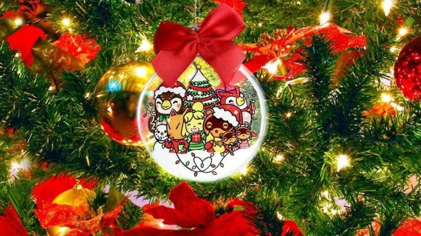 Animal Crossing christmas decoration