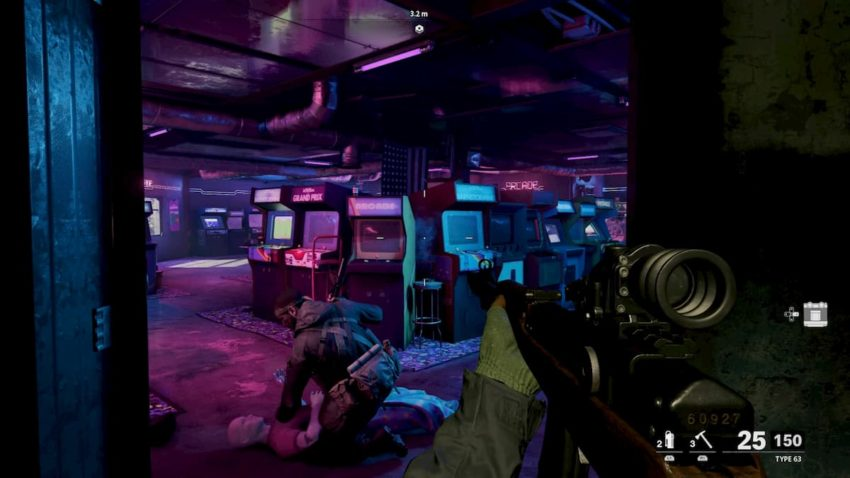 Call of Duty: Black Ops Cold War arcade machines