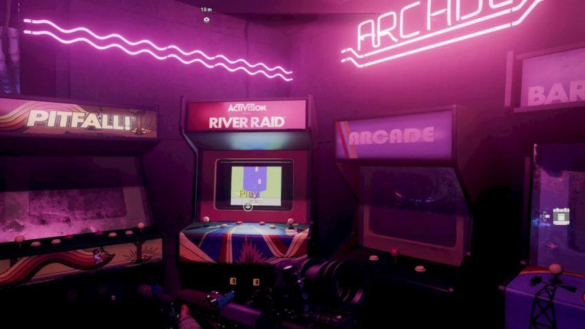 Call of Duty: Black Ops Cold War River Raid arcade