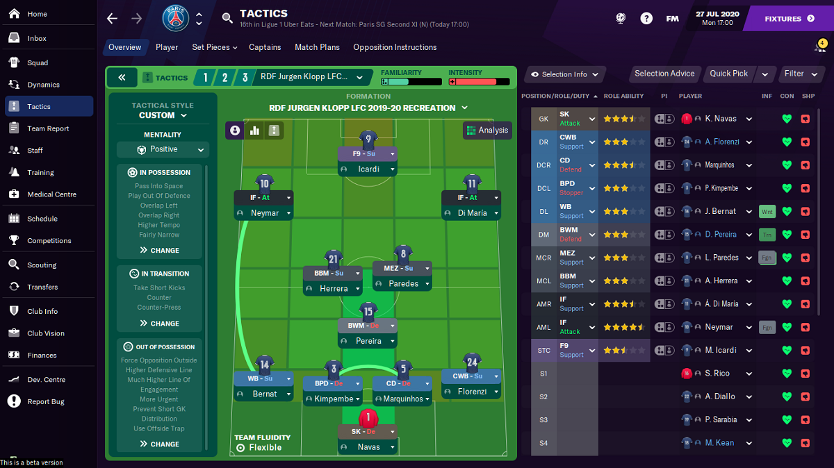 How to import user-created tactics into Football Manager 2021