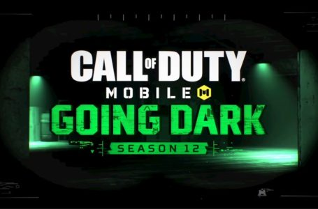 What is Call of Duty: Mobile Season 12 end date