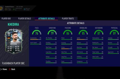FIFA 21: How to complete the Flashback Sami Khedira SBC