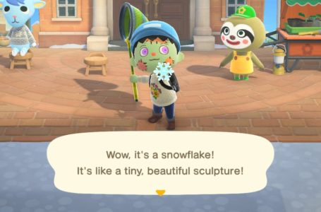 All snowflake DIY projects and how to get them in Animal Crossing: New Horizons