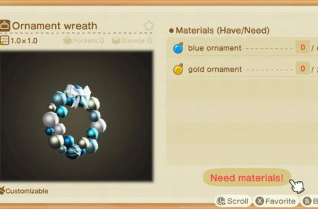 All ornament DIY projects and how to get them in Animal Crossing: New Horizons