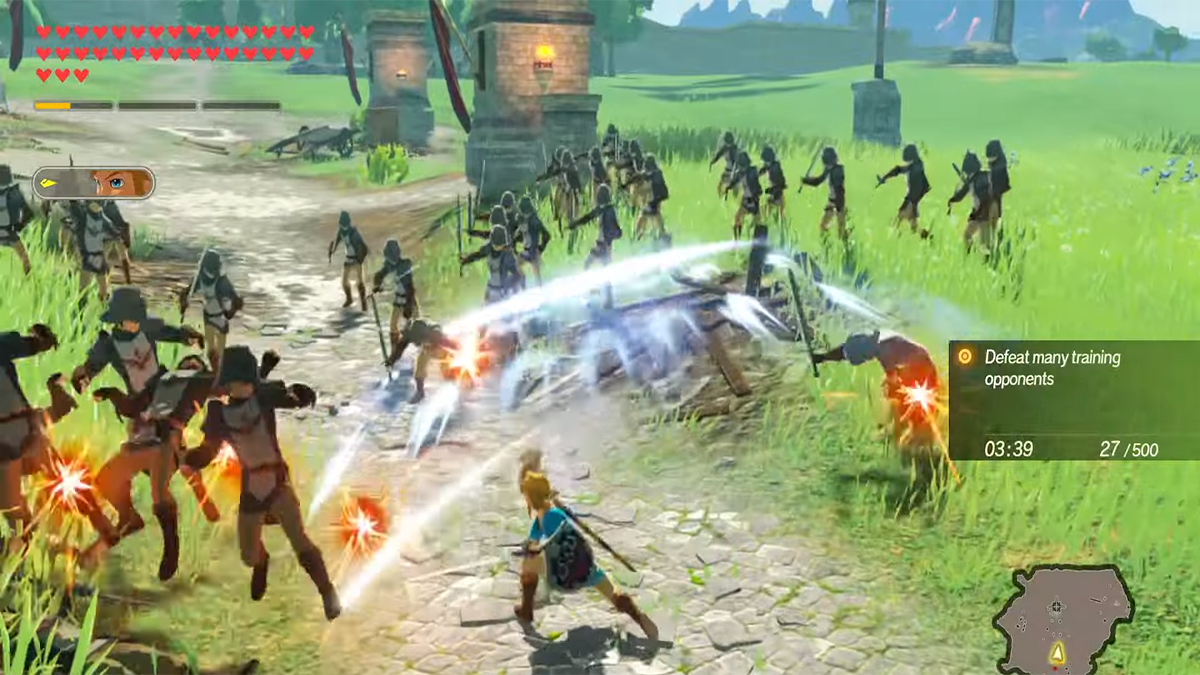 Where To Get Mighty Thistle And Amoranth In Hyrule Warriors Age Of Calamity Gamepur