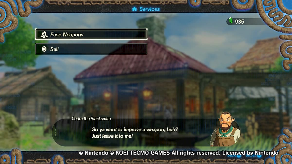 How Fusing Weapons Works In Hyrule Warriors Age Of Calamity Gamepur