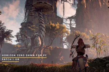 Horizon: Zero Dawn patch 1.08, bringing achievements to The Epic Game Store and much more – Patch notes