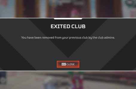 Apex Legends glitch is temporarily kicking players out of their own Clubs