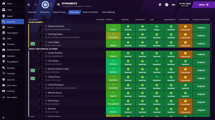 How to improve your player relationships in Football Manager 2021