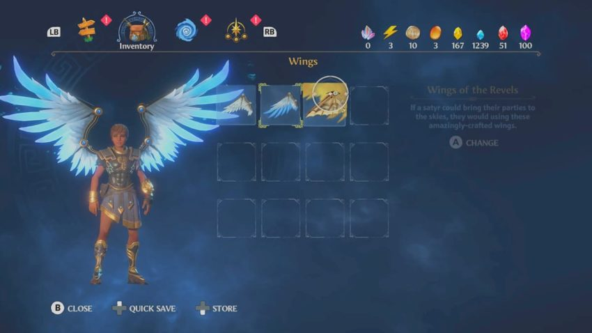 How to defeat Lieutenant Aello, the Stormswift, and get the Wings of the Revels in Immortals Fenyx Rising