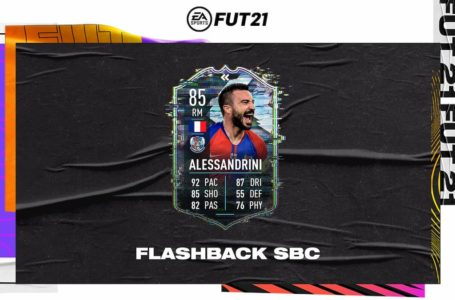 FIFA 21: How to complete Flashback Romain Alessandrini SBC