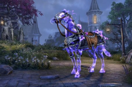 How to use mounts in Elder Scrolls Online