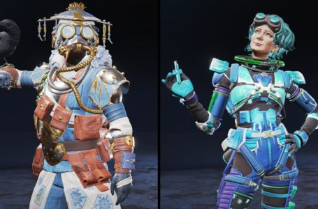 All non-premium rewards for the Holo-Day Bash 2020 event in Apex Legends