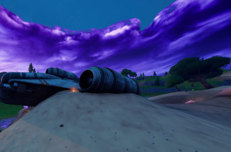 Where to find the Razor Crest in Fortnite Chapter 2 Season 5