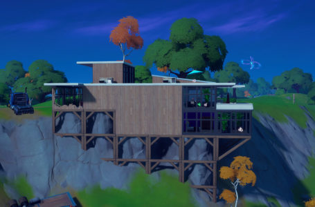 Where to place a camera near the beachside mansion in Fortnite Chapter 2 Season 5