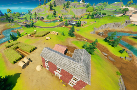 Where to consume corn at Steel's Farm in Fortnite Chapter 2 Season 5