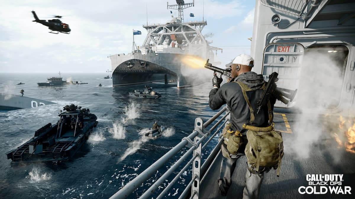Call of Duty: Black Ops Cold War's Season One Trailer Introduces Stitch