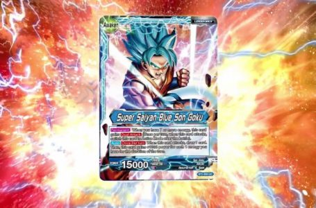The best Dragon Ball Super Trading Card Game cards (2020)