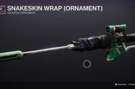 How to get the Snakeskin Wrap Ornament – Destiny 2 Beyond Light