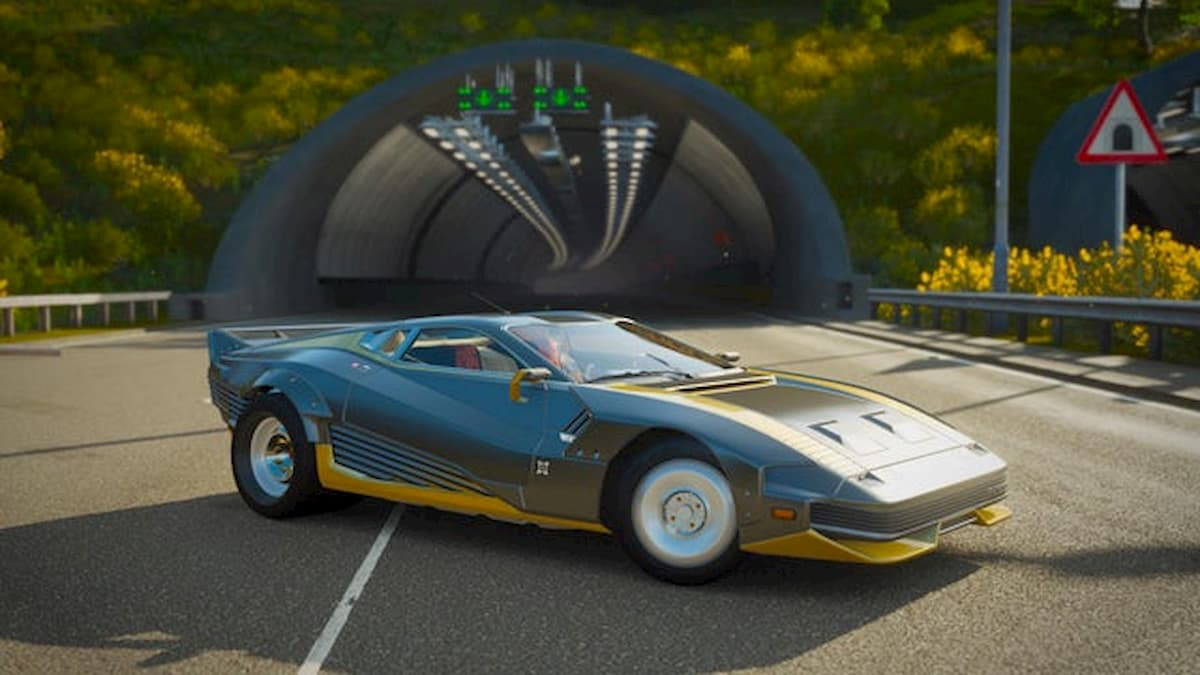 Forza Horizon 4 Gets A Brand New Car from Cyberpunk 2077