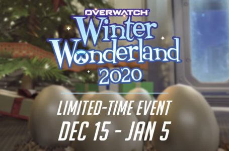 When does the Overwatch 2020 Winter Wonderland event start?