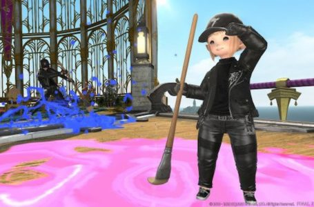 How to get the Calfskin Rider's leather biker outfit in Final Fantasy XIV