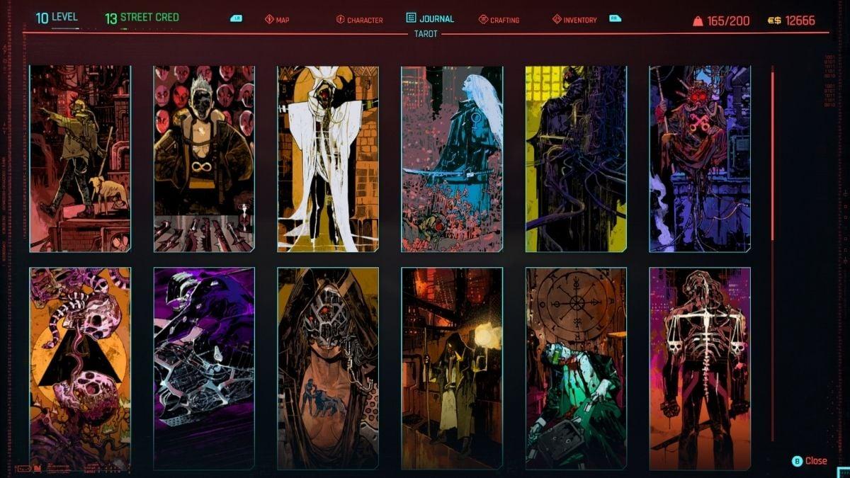 All Cyberpunk 2077 Tarot Card locations | Gamepur