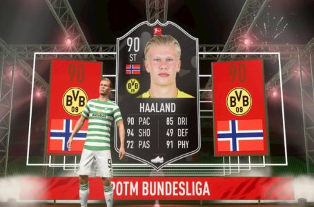 FIFA 21: How to complete POTM Erling Haaland SBC