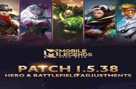 Mobile Legends: Bang Bang  1.5.38 update Patch Notes – Hero adjustments, new skins, and more