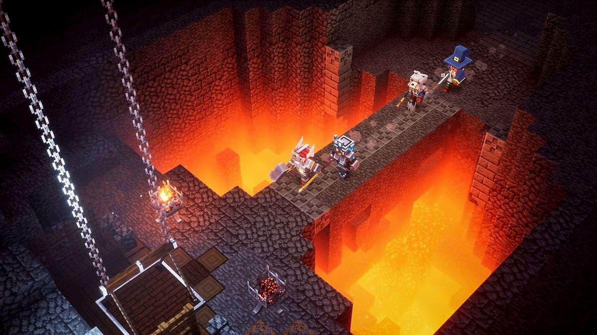 Best Minecraft Dungeons builds Gamepur