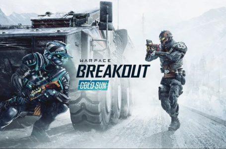 New Warface: Breakout season, Cold Sun, coming tomorrow