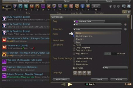 How to use the Party Finder in Final Fantasy XIV