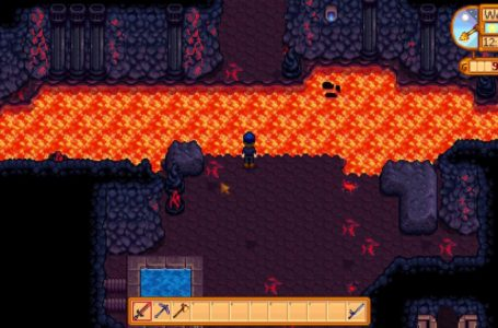 How to make a bridge in the volcano in Stardew Valley – Update 1.5